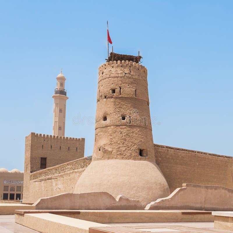 Al Fahidi fort, Dubaj obrazy stock