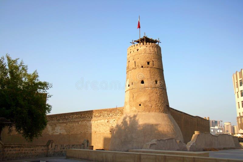 Al Fahidi fort w Dubaj, UAE zdjęcie royalty free