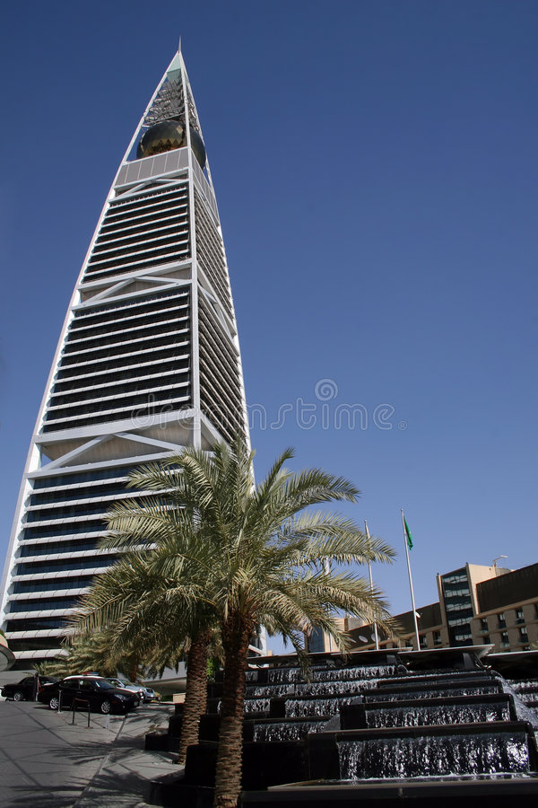 Download Al Faisaliah tower stock photo. Image of style, architect - 5422086