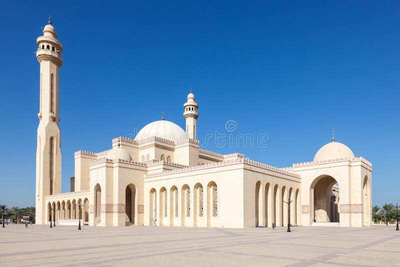 Al Fateh Grand Mosque in Manama, Bahrain. Al Fateh Grand Mosque in the city of Manama, Kingdom of Bahrain, Middle East stock photo