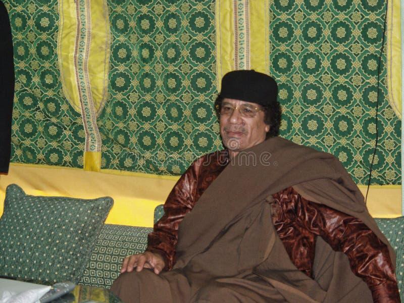 Al Gaddafi di Muammar immagini stock libere da diritti