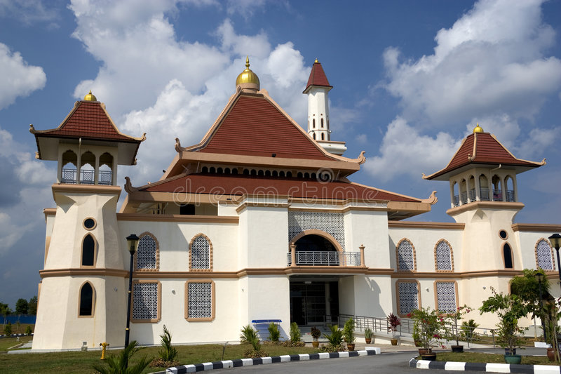 Al-Ghaffar Mosque stock image