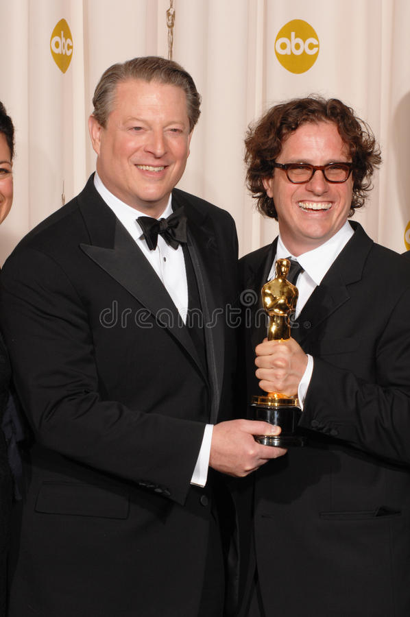 Download Al Gore,Davis Guggenheim editorial photography. Image of hollywood - 24818302