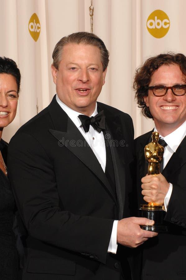 Download Al Gore,Davis Guggenheim editorial stock photo. Image of 79th - 24818333