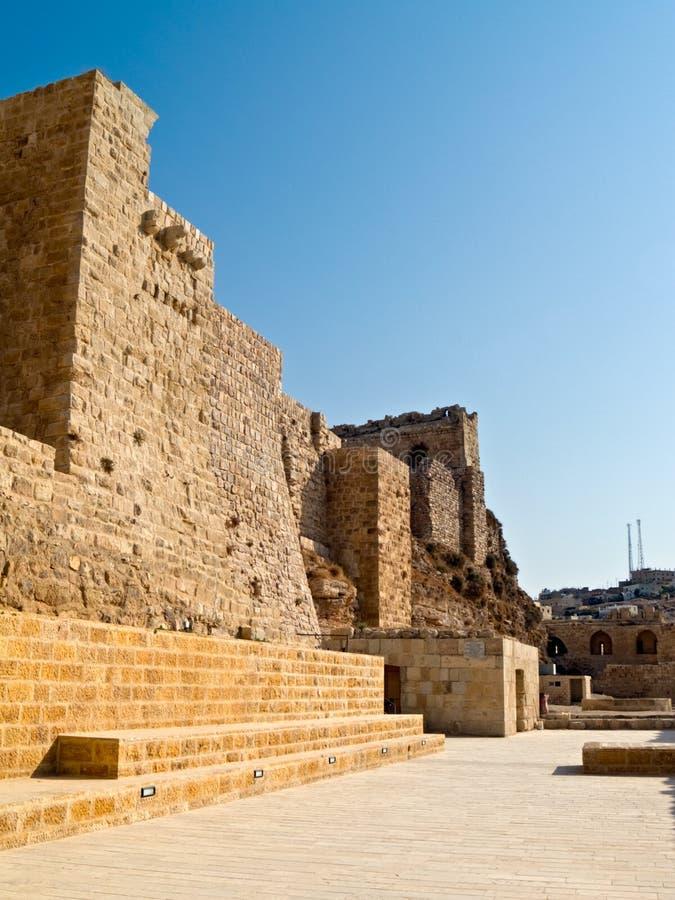 al grodowy krzyżowa Jordan kerak obraz royalty free