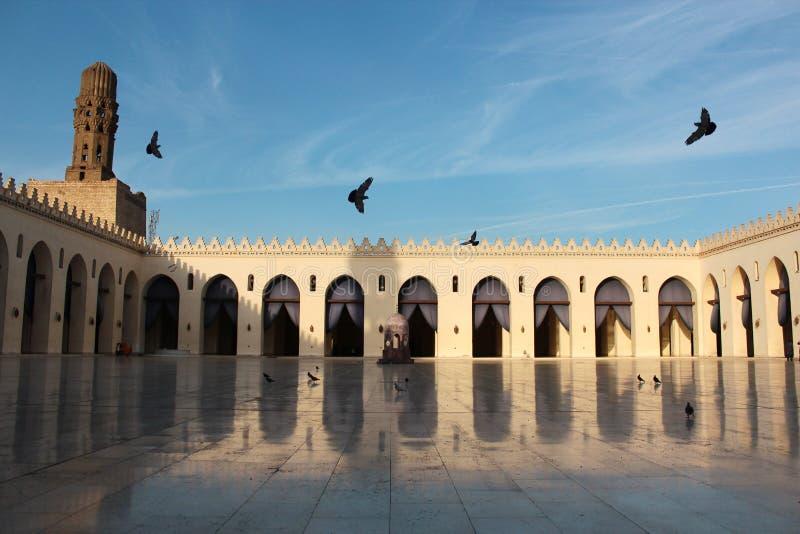 Al Hakim δις-Amr Αλλάχ Mosque στοκ εικόνα