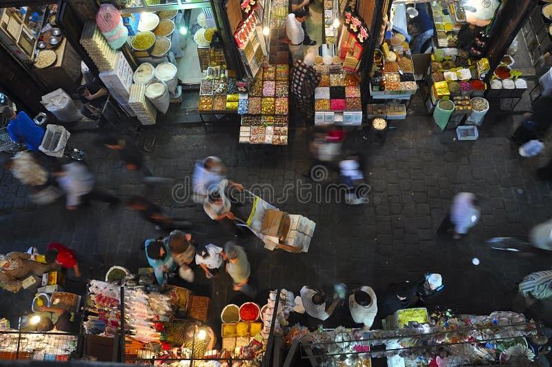 Al-Hamidiyah Souq, Damas, Syrie photos libres de droits