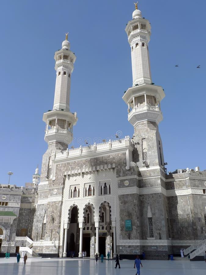 Al Haram Masjid εξωτερικό στη Μέκκα στοκ εικόνες