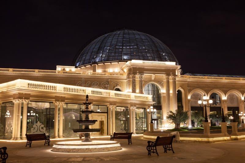Al Hazm购物中心在多哈,卡塔尔 免版税库存图片