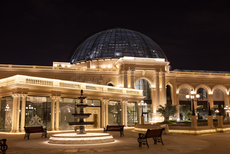Al Hazm Mall in Doha, Qatar royalty free stock image