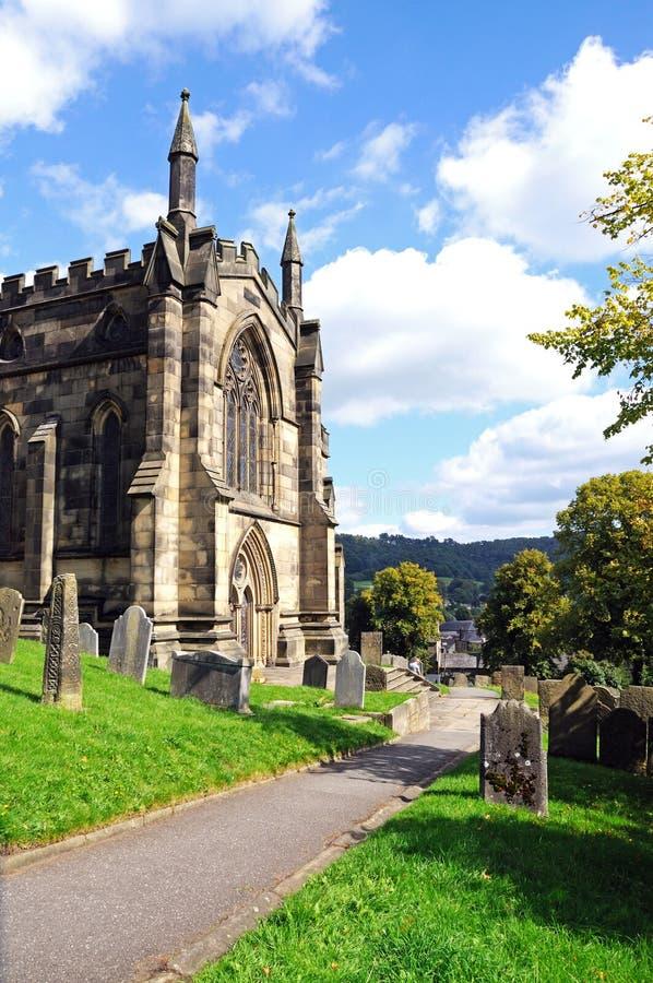 Al Heiligenkerk, Bakewell royalty-vrije stock afbeelding