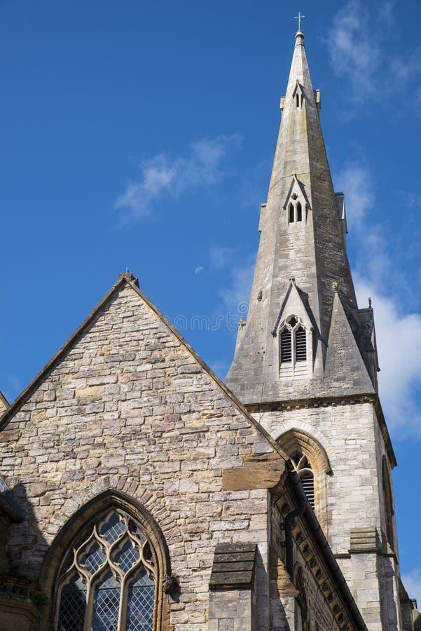 Al Heiligenkerk in Dorchester royalty-vrije stock afbeeldingen