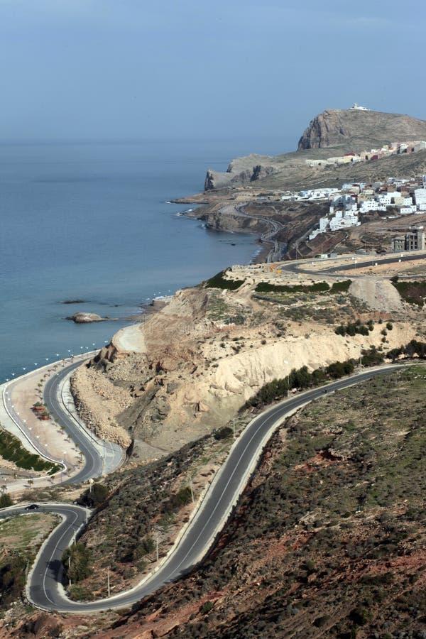 Al-Hoceima, Marrocos fotografia de stock royalty free