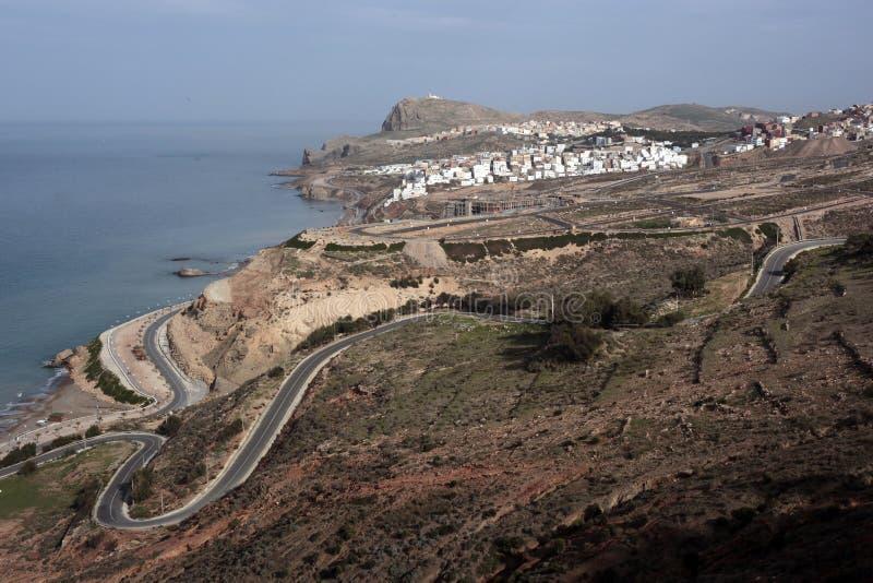 Al-Hoceima, Marruecos imagenes de archivo