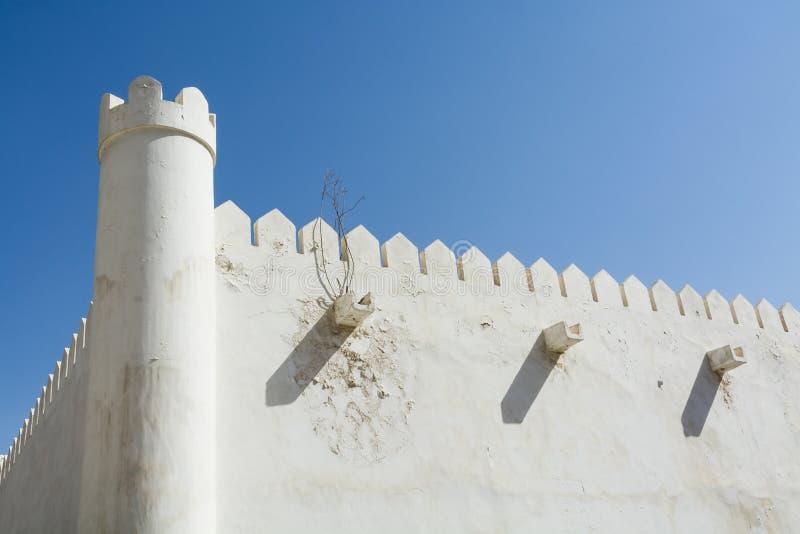 Al Hosn fort Abu Dhabi royaltyfria foton