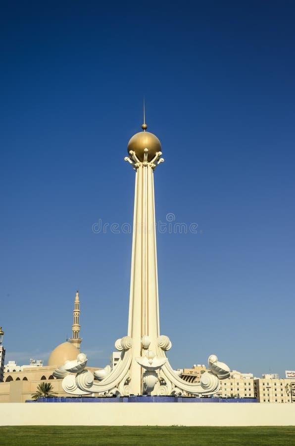 Al Itihad-park Sharjah de V.A.E royalty-vrije stock foto's