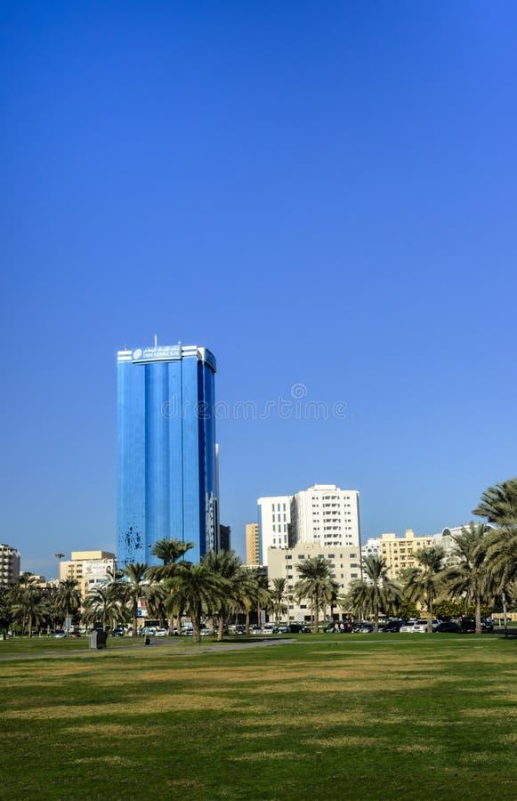 Al Itihad park Sharjah UAE stock photography
