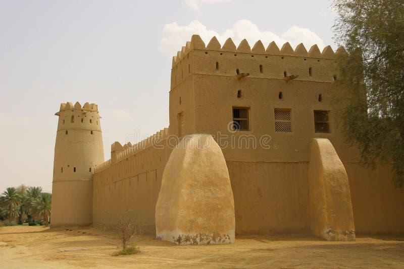 Al Jahili堡垒 库存照片