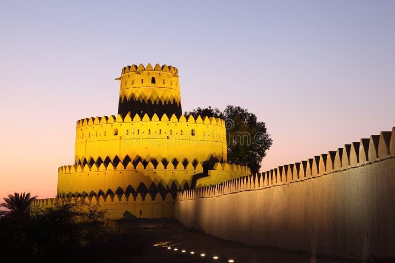 Al Jahili fort in Al Ain royalty free stock photos