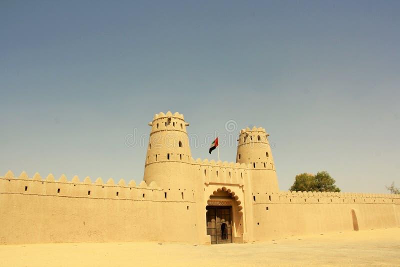 Al Jahili fort w Al Ain, Zjednoczone Emiraty Arabskie zdjęcia royalty free