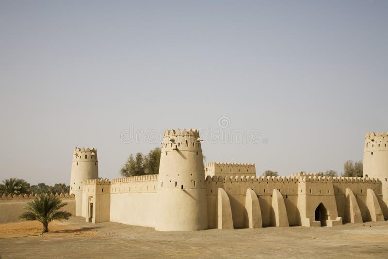 Al Jahli堡垒 免版税库存图片