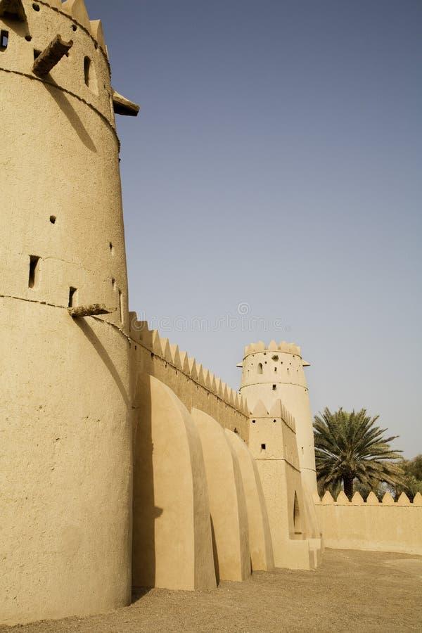 Al Jahli堡垒 免版税图库摄影