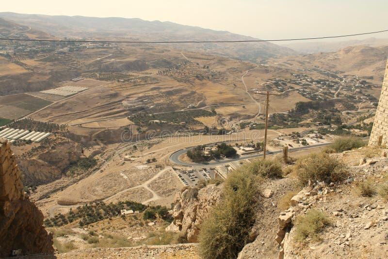 Al Karak Castle fotografía de archivo libre de regalías