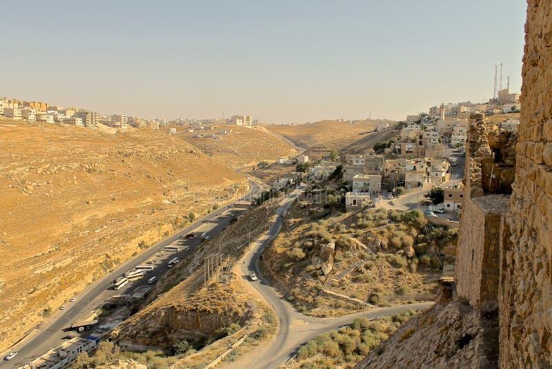 Al Karak Castle fotografía de archivo