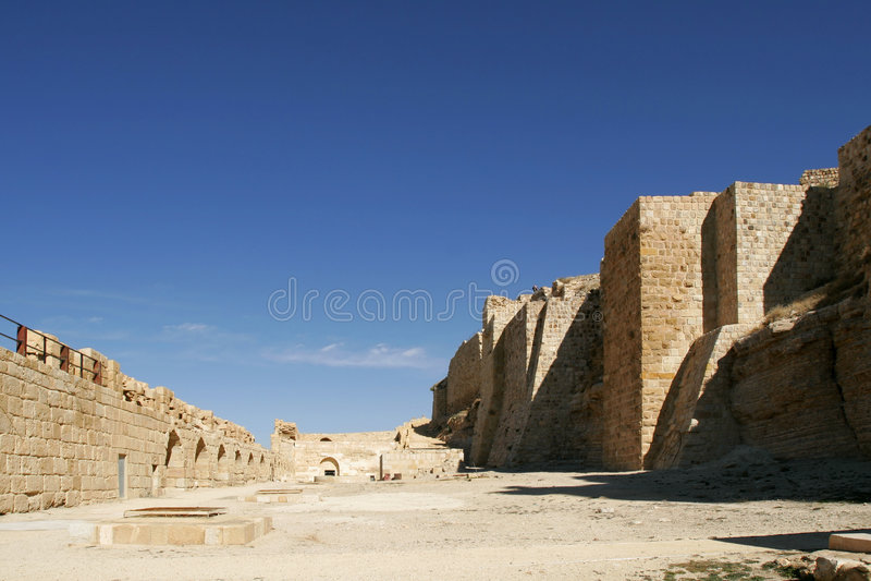 Al-Karak Schloss lizenzfreie stockfotografie