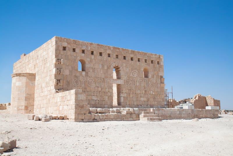 al kasztelu pustyni hallabat qasr zdjęcia royalty free