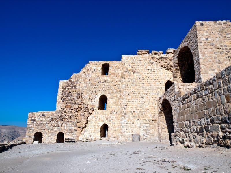 Al - Kerak (Karak) in Jordanien lizenzfreie stockfotografie