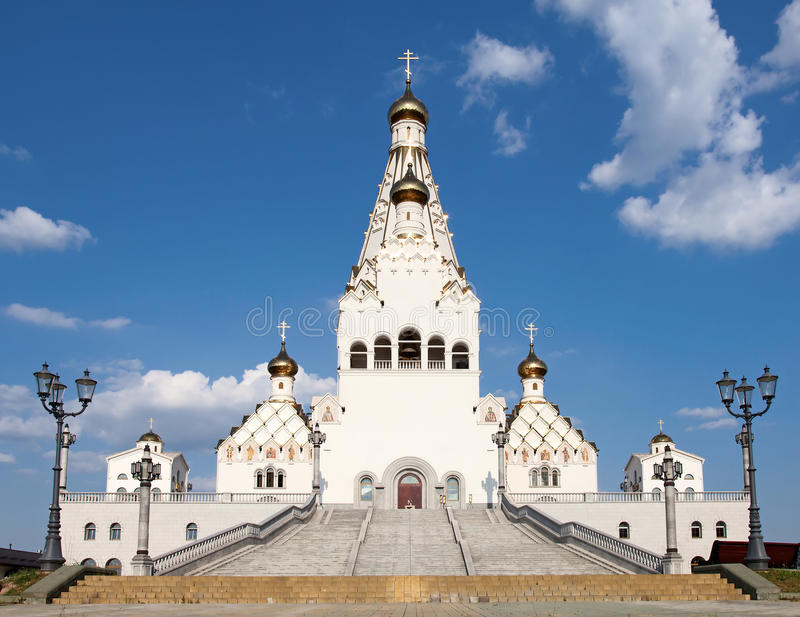 Al kerk van Heiligen royalty-vrije stock foto