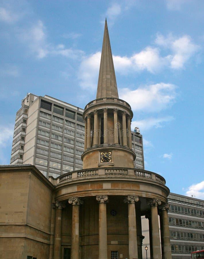 Al Kerk van Zielen stock foto