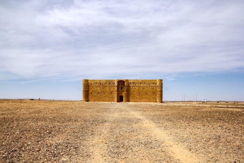 Al Kharana - estación antigua de la caravana, Jordania de Qasr fotografía de archivo libre de regalías