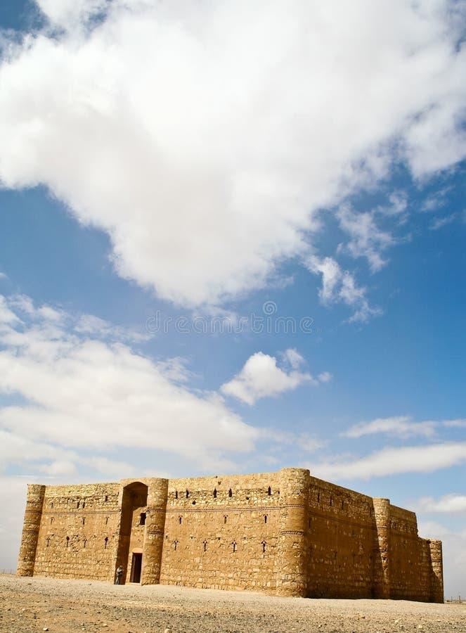 Al Kharanah o Harrana di Qasr. Il Giordano. fotografia stock