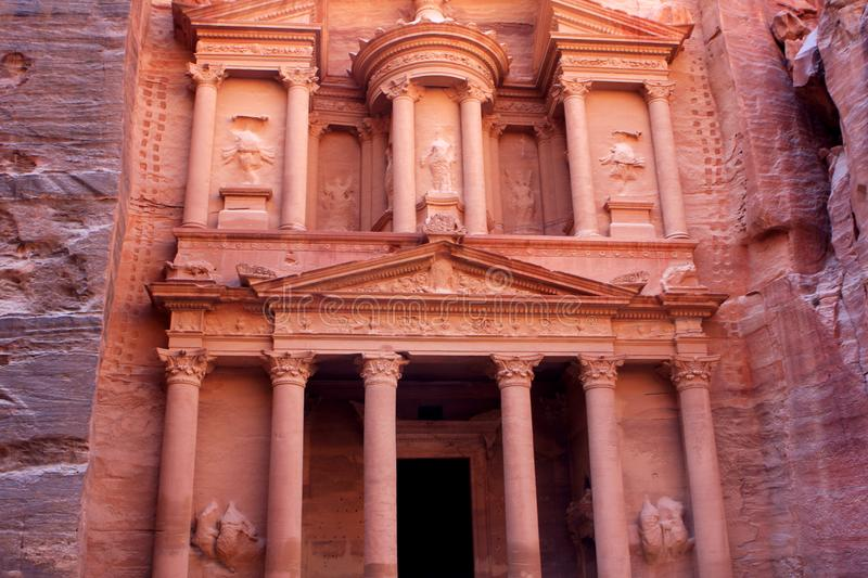Download Al-Khazneh Temple In Petra, Jordan Stock Image - Image: 104375147