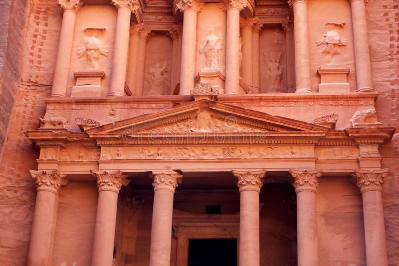 Download Al-Khazneh Temple In Petra, Jordan Stock Image - Image: 104374983