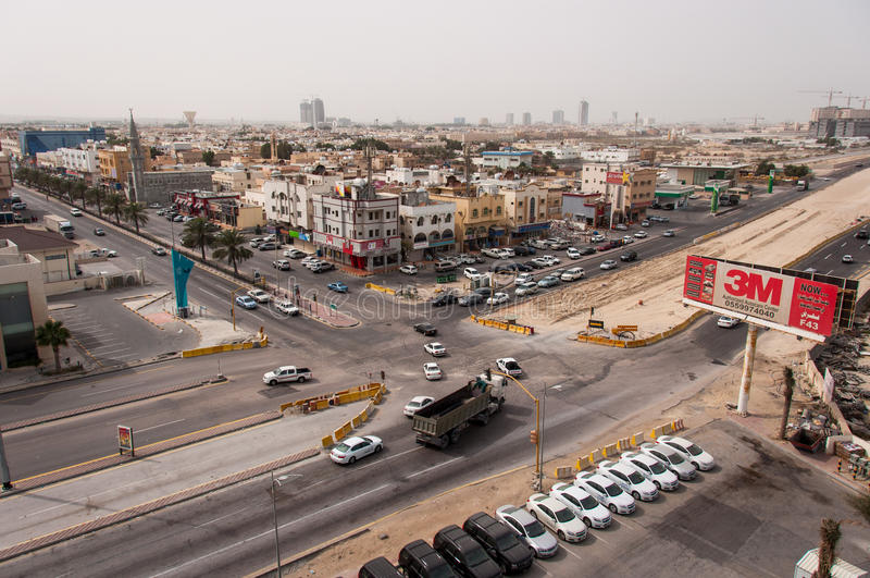 Al Khobar, in Saudi-Arabië royalty-vrije stock fotografie