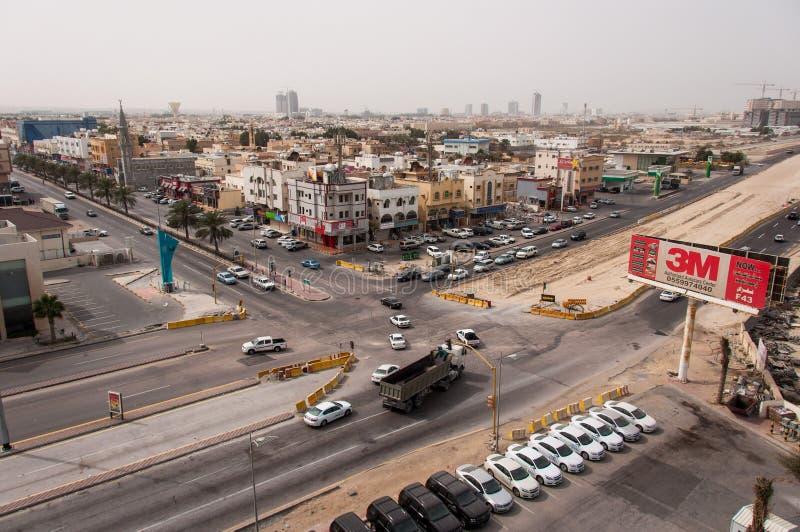 Al Khobar, in Saudi Arabia.  royalty free stock photography