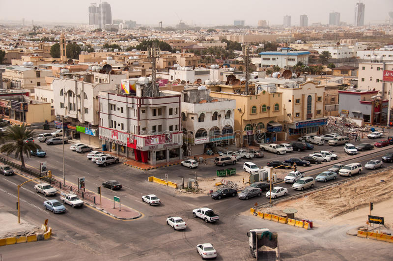 Al Khobar in Saudi Arabia.  stock images