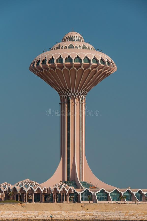 Al Khobar Tower Al Khobar, Saudiarabien arkivbilder
