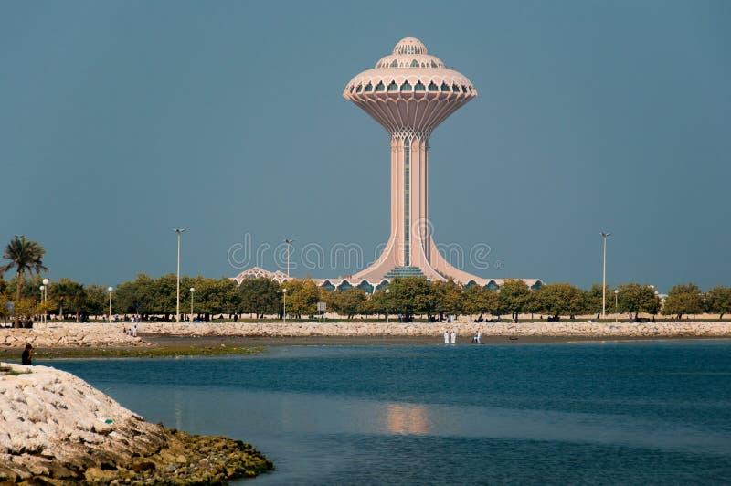 Al Khobar Tower Al Khobar, Saudiarabien arkivfoton