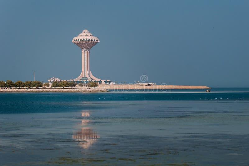 Al Khobar Tower Al Khobar, Saudiarabien fotografering för bildbyråer