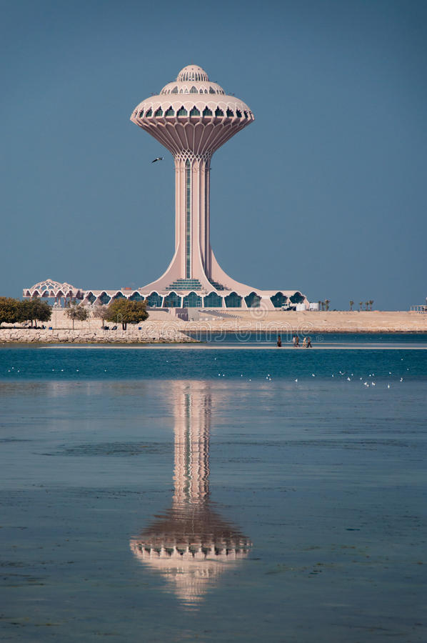 Al Khobar Tower Al Khobar, Saudiarabien royaltyfri fotografi