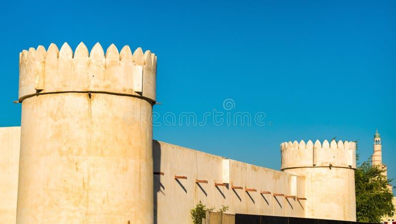 Al Koot Fort in Doha, the capital of Qatar stock photography