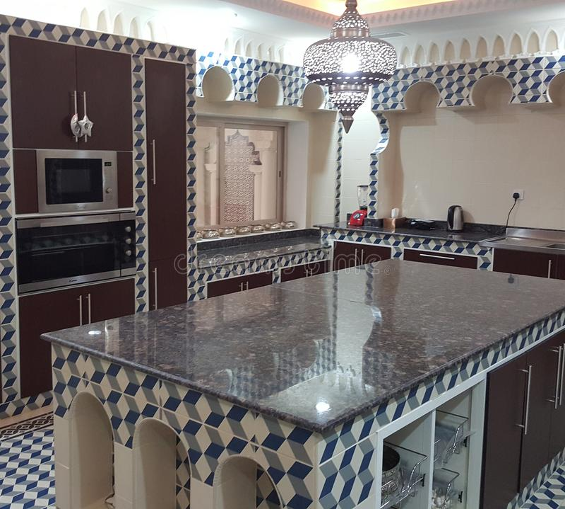 Al kuwait. Designe for kitchen royalty free stock photos