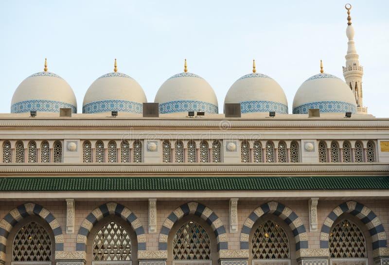 Al Madina Moschee stockbild