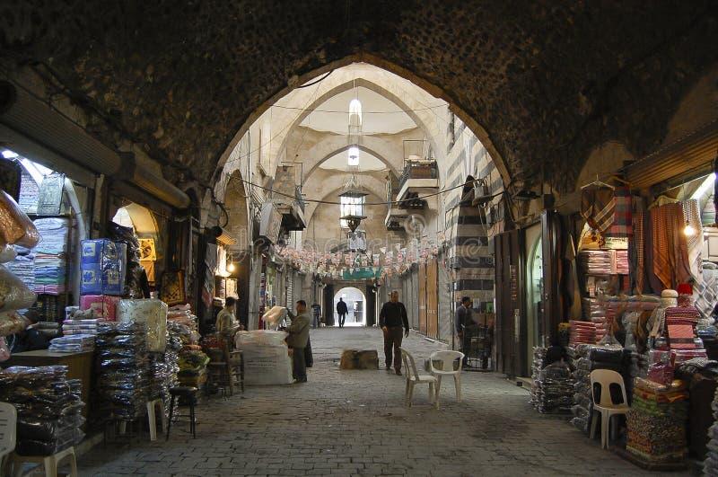 Al Madina Souq - Халеб - Сирия стоковые фотографии rf