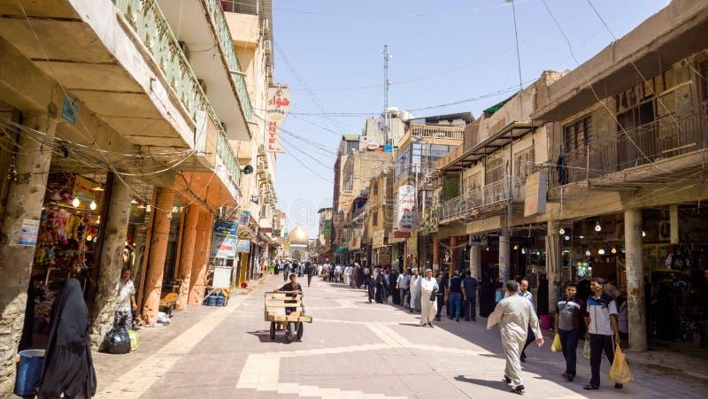 Al Madina Street imagenes de archivo