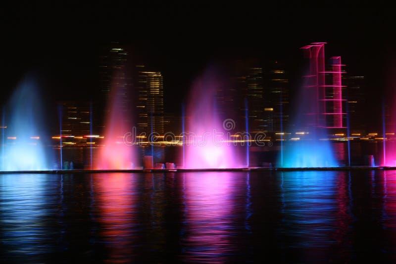 Al Majaz Waterfront arkivbilder